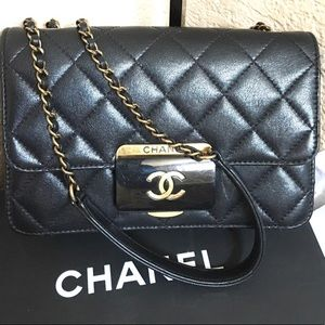 Black Quilted Chanel Crossbody